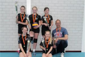 Volleybal N6 Kampioen!